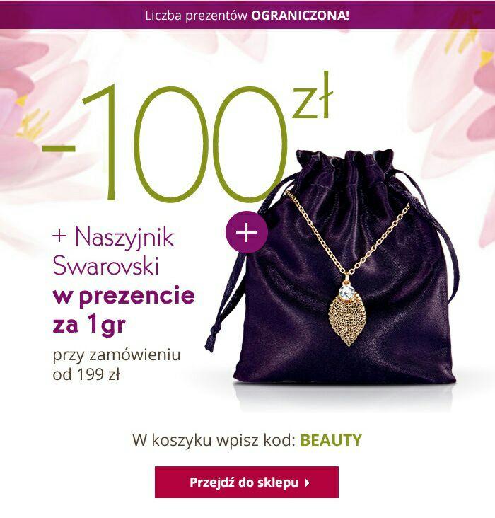 Yves Rocher, rabat 100 zł + za 1gr naszyjnik Swarovski + prezenty