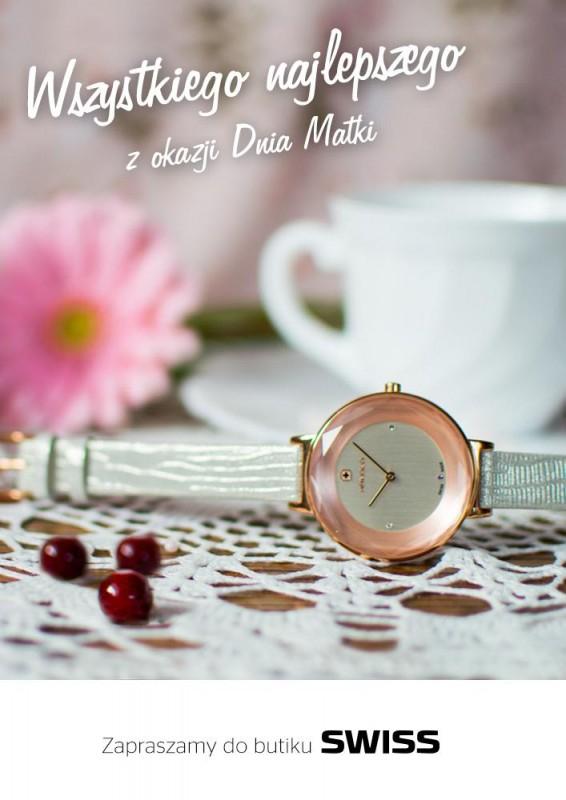 Biżuteria gratis przy zakupie zegarka (Swiss)