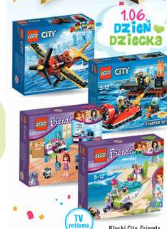Lego City/Friends za 32,99zł @ Intermarche