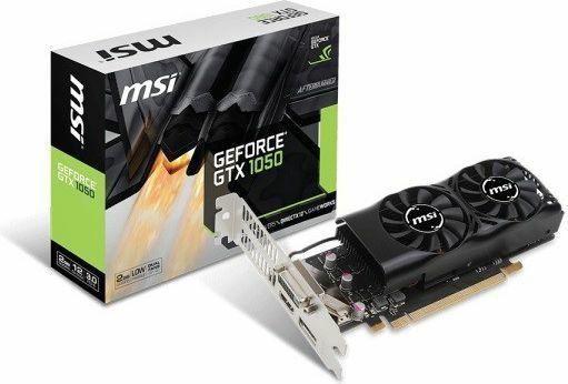 MSI GeForce GTX 1050 2GB GDDR5