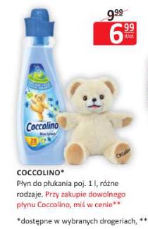 Miś gratis przy zakupie płynu Coccolino @ Natura