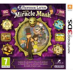 Professor Layton and the Miracle Mask (NINTENDO 3DS) za ok. 31zł @ Zavvi