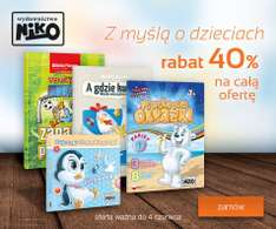 Rabaty na książki dziecięce @ Bonito,Aros,Empik,Prószyński