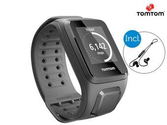 Zegarek sportowy TomTom Spark Cardio + Music | słuchawki w zestawie