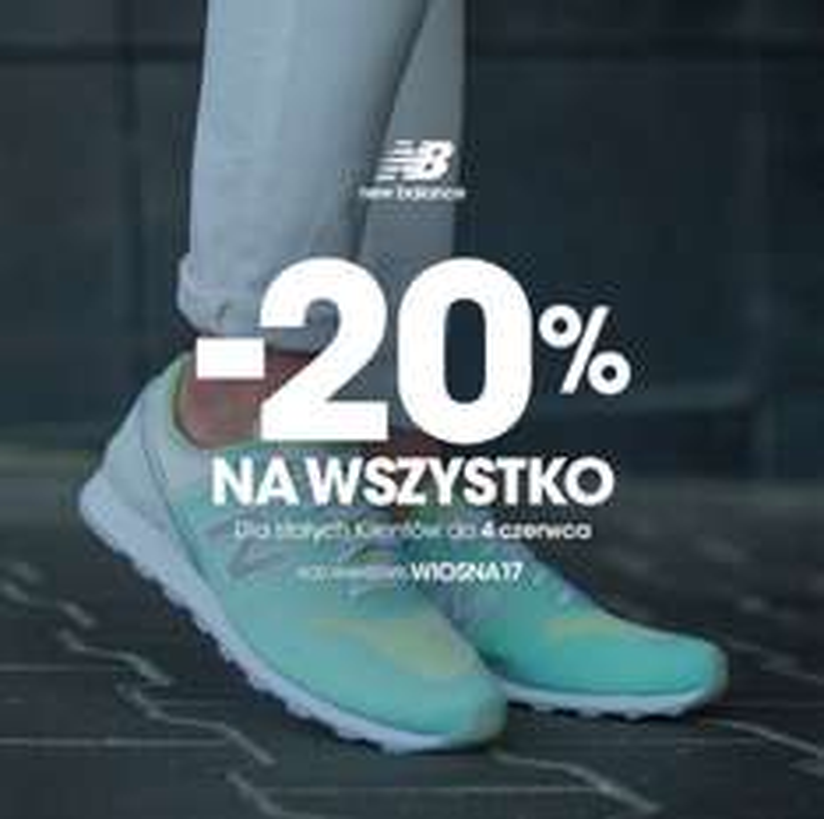 New Balance -20% nbsklep.pl