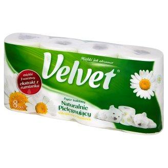 Papier toaletowy Velvet (8 rolek) za 6,49zł @ Intermarche