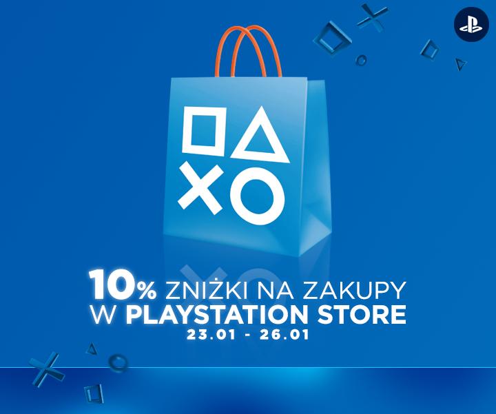 Aktualizacja! 10% zniżki na zakupy @ PlayStation Store