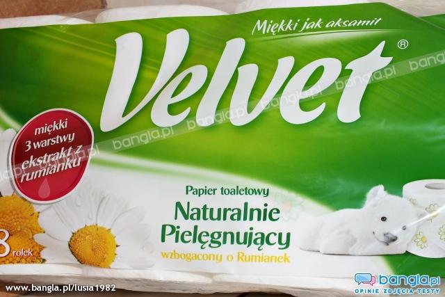 Papier toaletowy Velvet 8 rolek w cenie 5,99zł @ Kaufland
