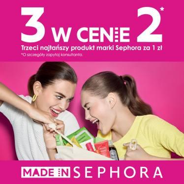Trzeci produkt marki Sephora gratis @ Sephora