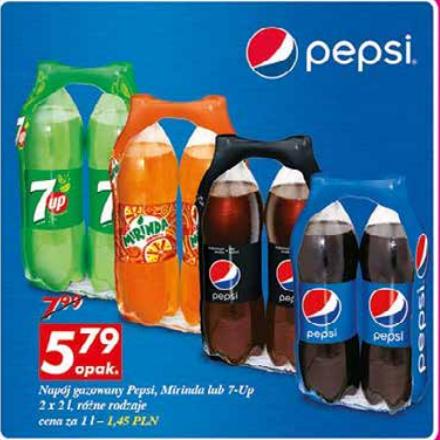 napoje koncernu Pepsi 2x2l @ Auchan od 9 Czerwca