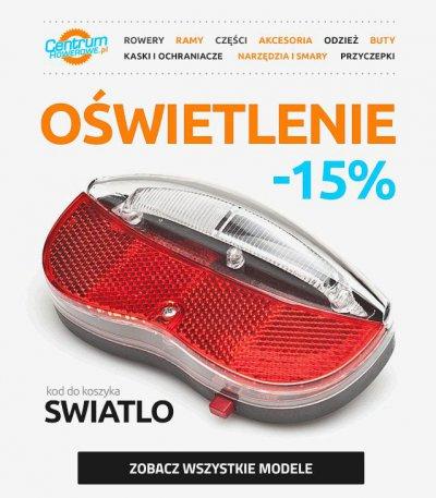 Oświetlenie -15% @ Centrum rowerowe.pl