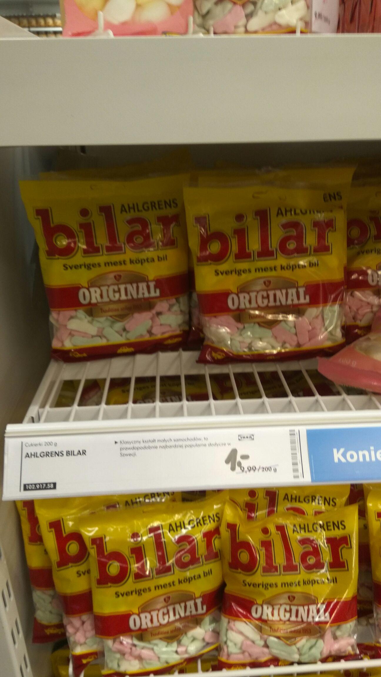 Cukierki w Ikea Kraków