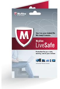 McAfee LiveSafe™ - ADT® Security Edition  2017 za Free na 1 rok
