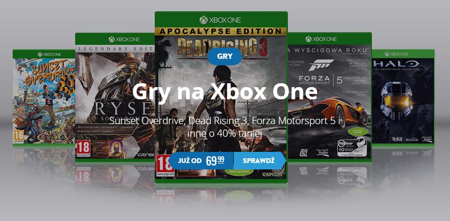 Gry na Xbox One 40% taniej (ceny od 69,99zł!) @ CDP.pl