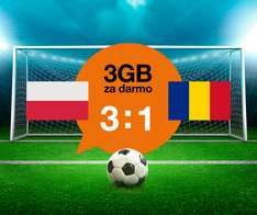 3GB internetu za darmo - Orange