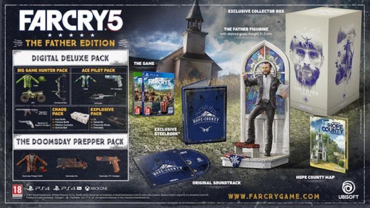 Far cry 5 preorder KOLEKCJONERKA 109.99zl