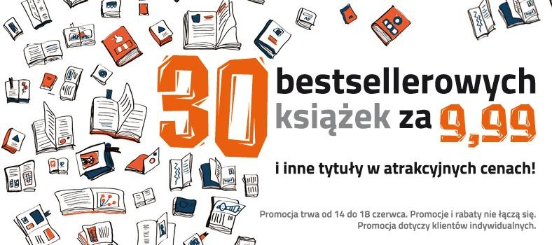 30 bestsellerów po 9,99zł @ Czarna Owca