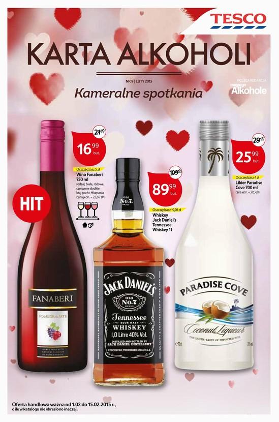 Whiskey Jack Daniel's 1L za 89,99zł @ Tesco