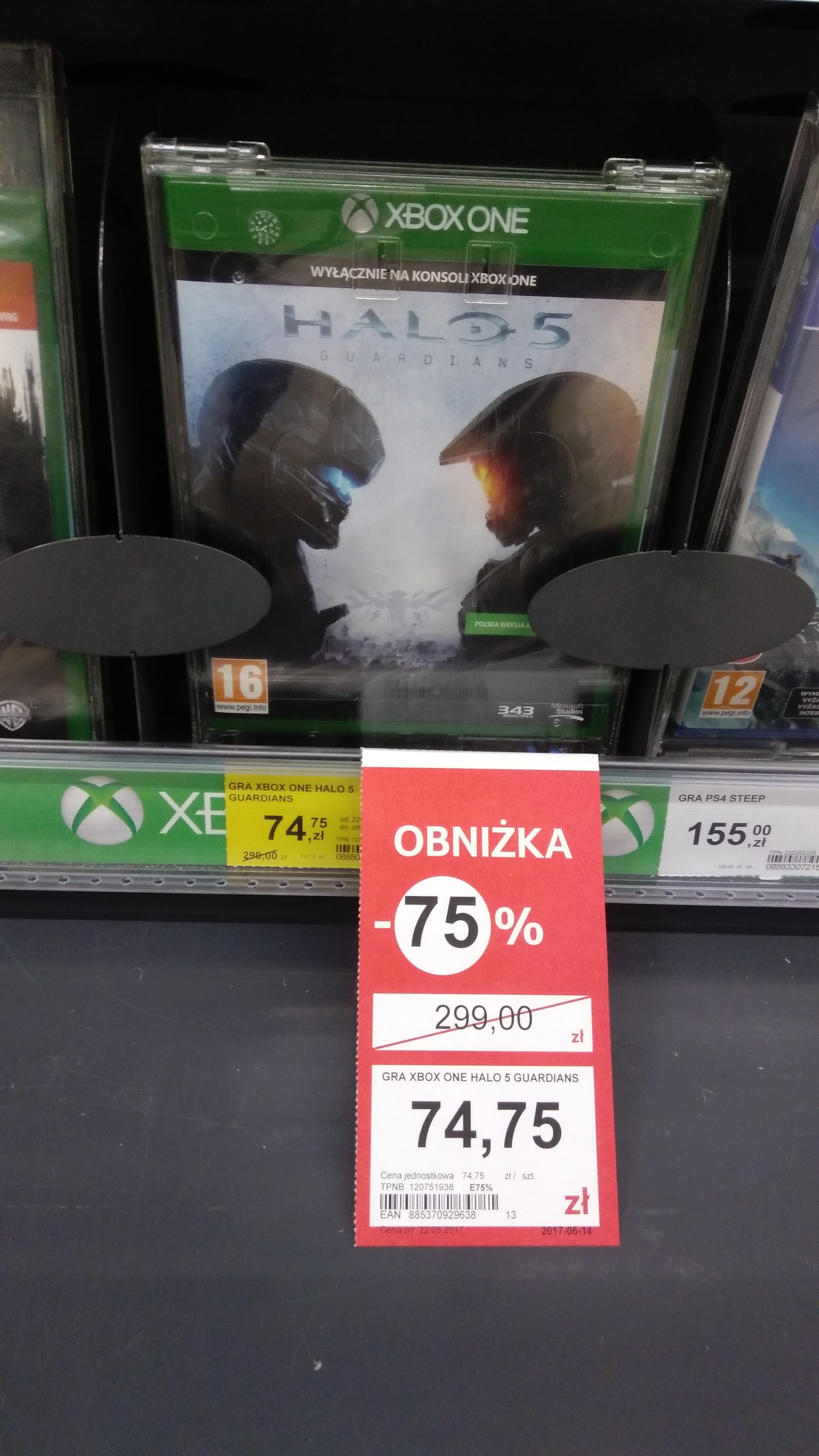 Gra HALO 5 Guardian Xbox One Tesco Katowice