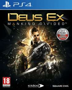 Deus Ex Mankind Divided na PS4 za 44 zł!