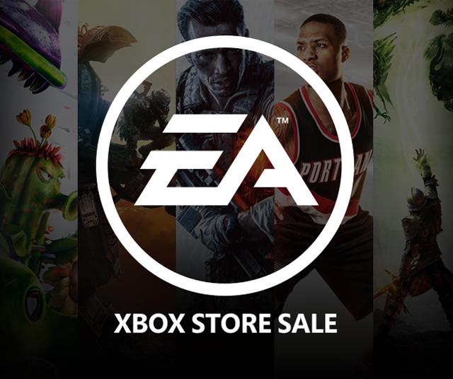 Wyprzedaż cyfrowych wersji gier EA na XBOX ONE/XBOX 360