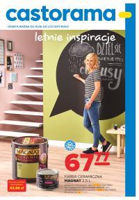CASTORAMA kupując 1 opak. farby Magnat Ceramic 2,5l (67,77 zł) farba tablicowa za 1zł (0,4l)