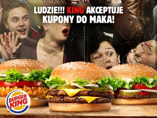 Kupony Mcdonalds do wykorzystania @ Burger King