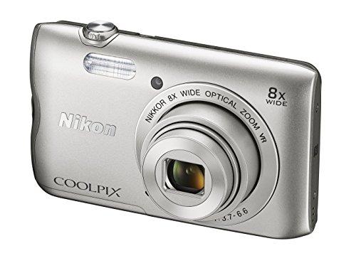Aparat cyfrowy Nikon Coolpix A300 za ~385zł (20,1MP; zoom optyczny: 8x, wbudowany akumulator i karta Wi-Fi) @ Amazon.de