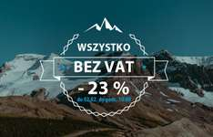 23% rabatu na cały asortyment @ Skalnik