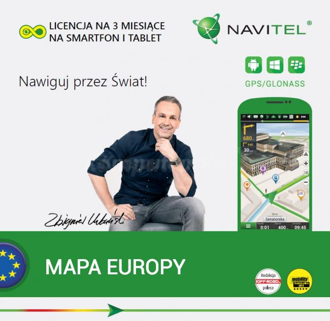 @komputronik Navitel Navigator Europa 3-miesięczna licencja