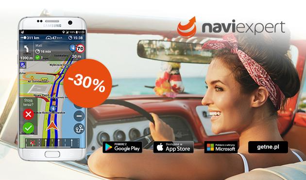 NaviExpert - rok licencji za 69 zł zamiast 99 dla PL lub 99 zamiast 149 dla EU