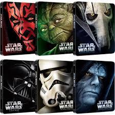 Star Wars od II do VI edycja steelbook za 27,99 każda na mediamarkt.pl