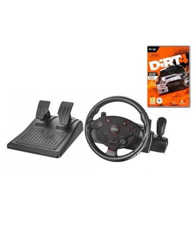 Zestaw DiRT 4 [PC] + kierownica Trust GXT 288 za 400zł @ Zadowolenie