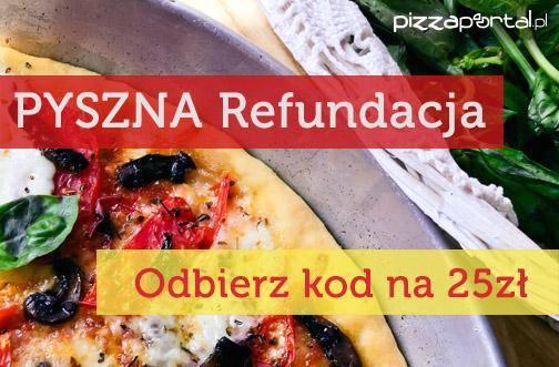 PYSZNA Refundacja (kolejne 25zł na jedzenie) @ PizzaPortal