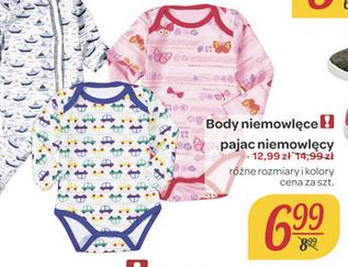 Body niemowlęce za 6,99zł @ Carrefour