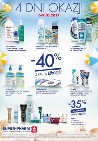 -40% na wybrane marki (z kartą LifeStyle) @ Super-Pharm