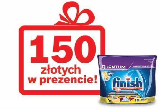 Zwrot w wys.150zł oraz zestaw tabletek Finish za zakup zmywarki marki Bosch @ Bosch