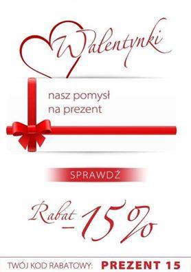 Walentynkowy rabat -15% @ Wojas