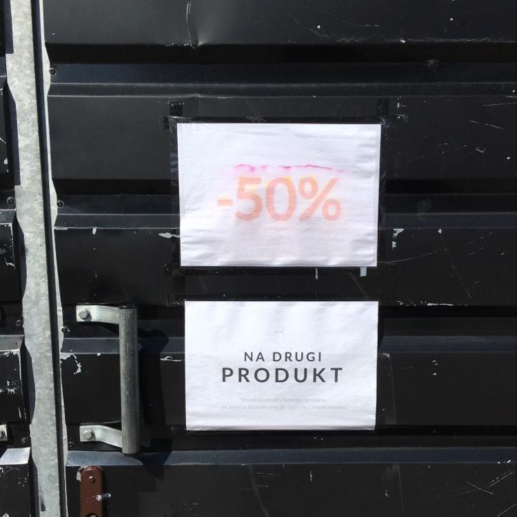 -50% na drugi produkt @ Diverse Hel Sklep Letni