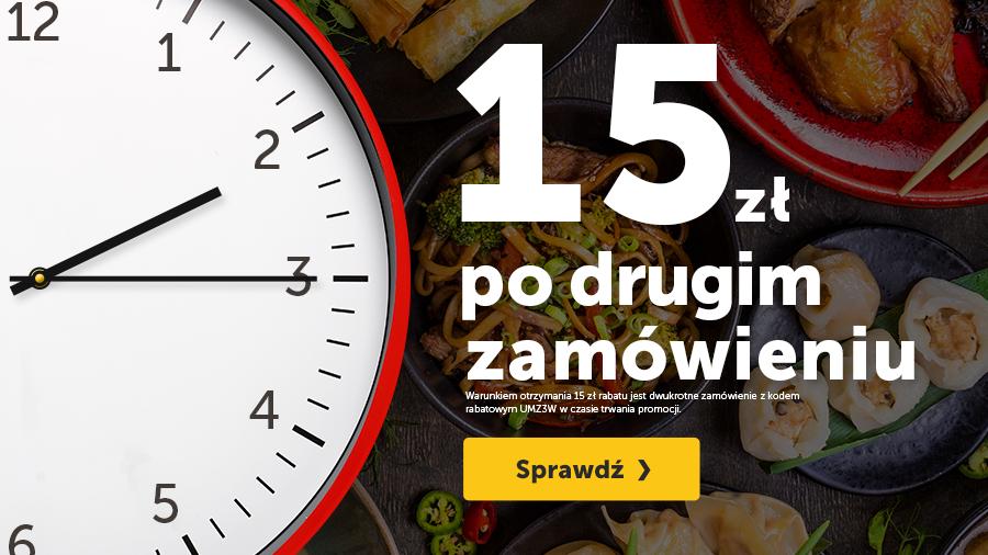 15 zł po drugim zamówieniu!- pizzaportal.pl
