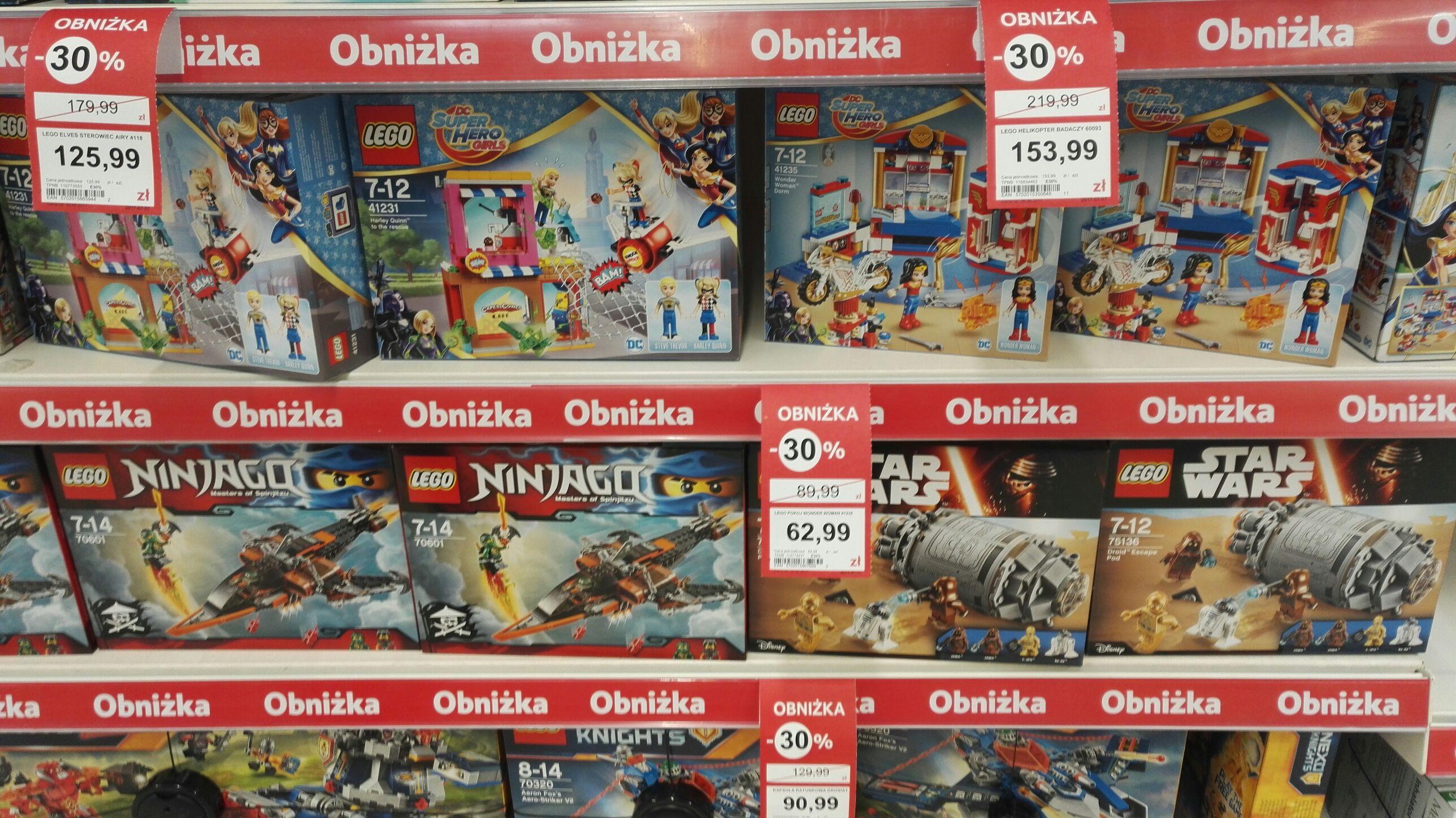 Lego, zabawki - 30% Tesco Bydgoszcz
