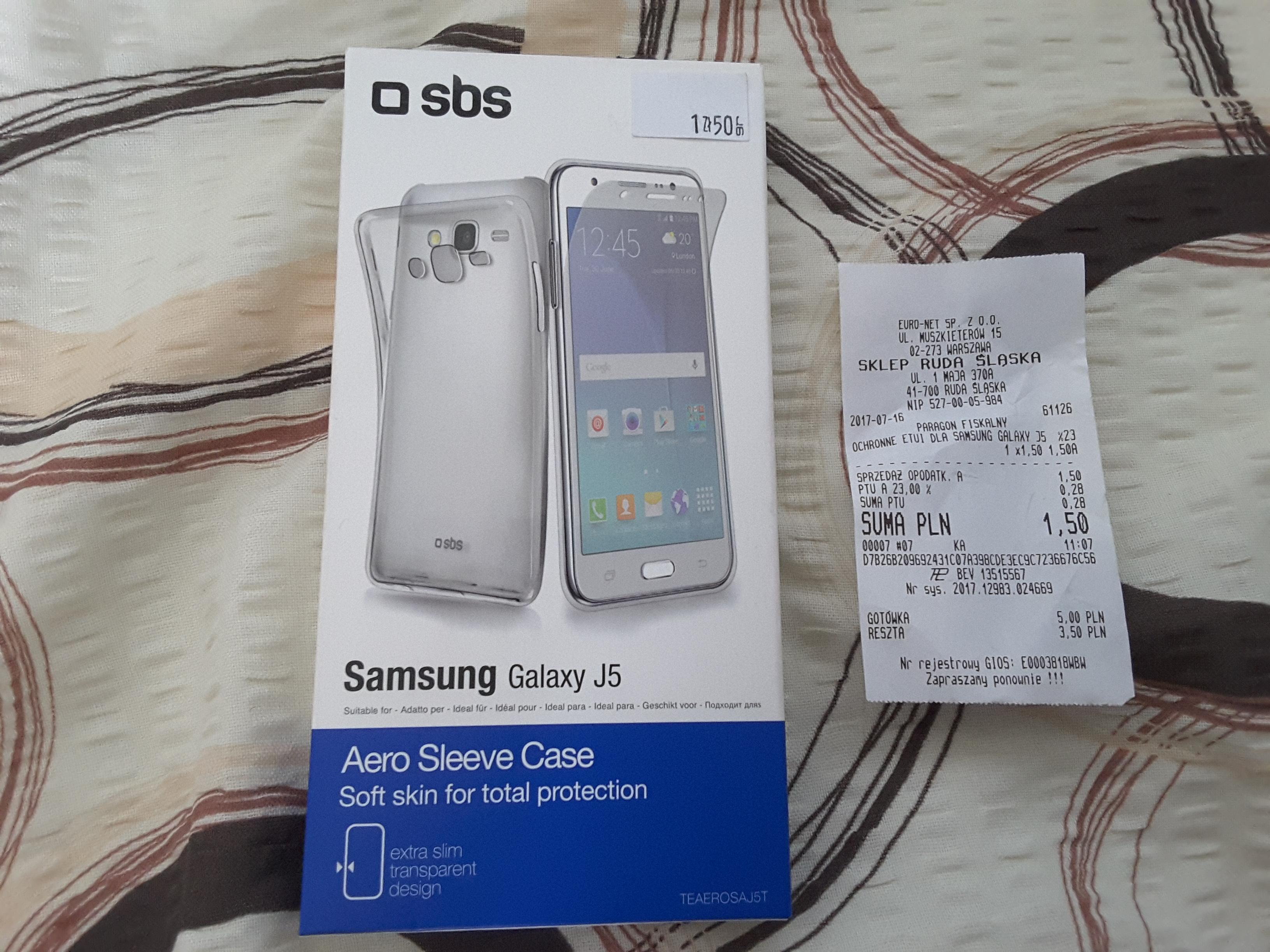 SBS Cover Aero Extraslim Galaxy J5, RTV EURO AGD