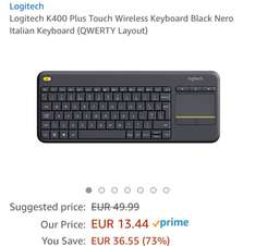 Logitech K400 plus (italian qwerty)
