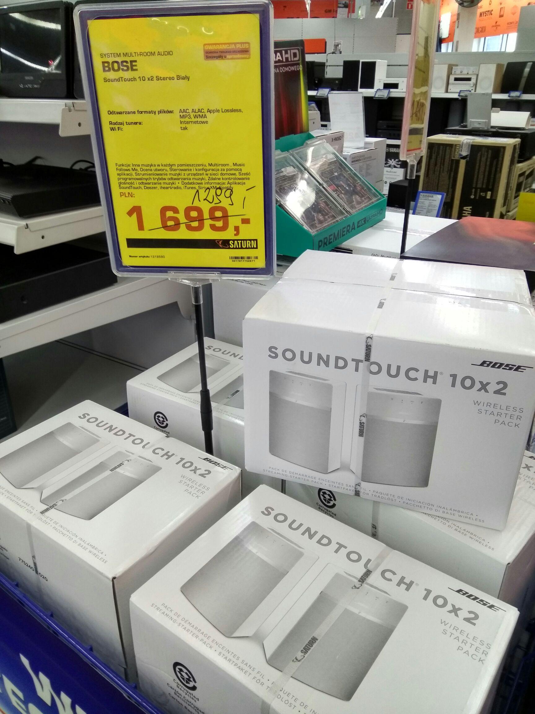 Bose Soundtouch 10 x 2 @ Saturn (Warszawa)