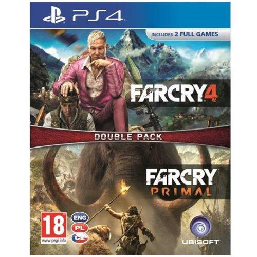 Far Cry 4 + Far Cry Primal PS4 Pudełko