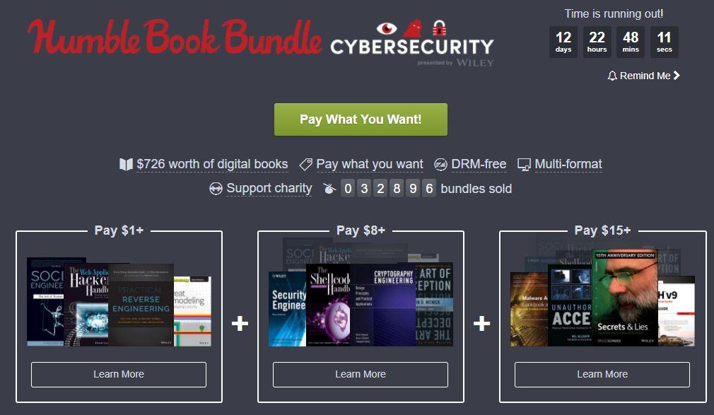 CyberSecurity @ Humble Book Bundle