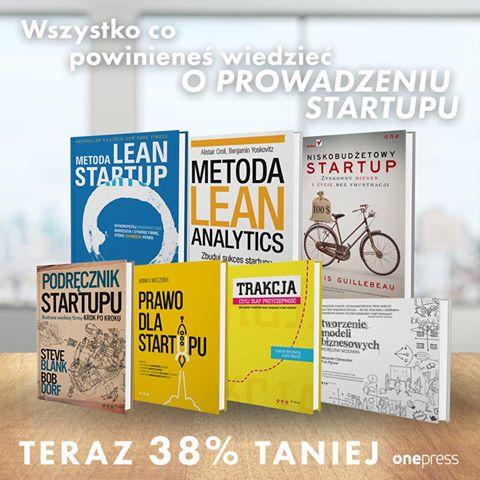 7 książek o prowadzeniu startupu, teraz aż 38% taniej