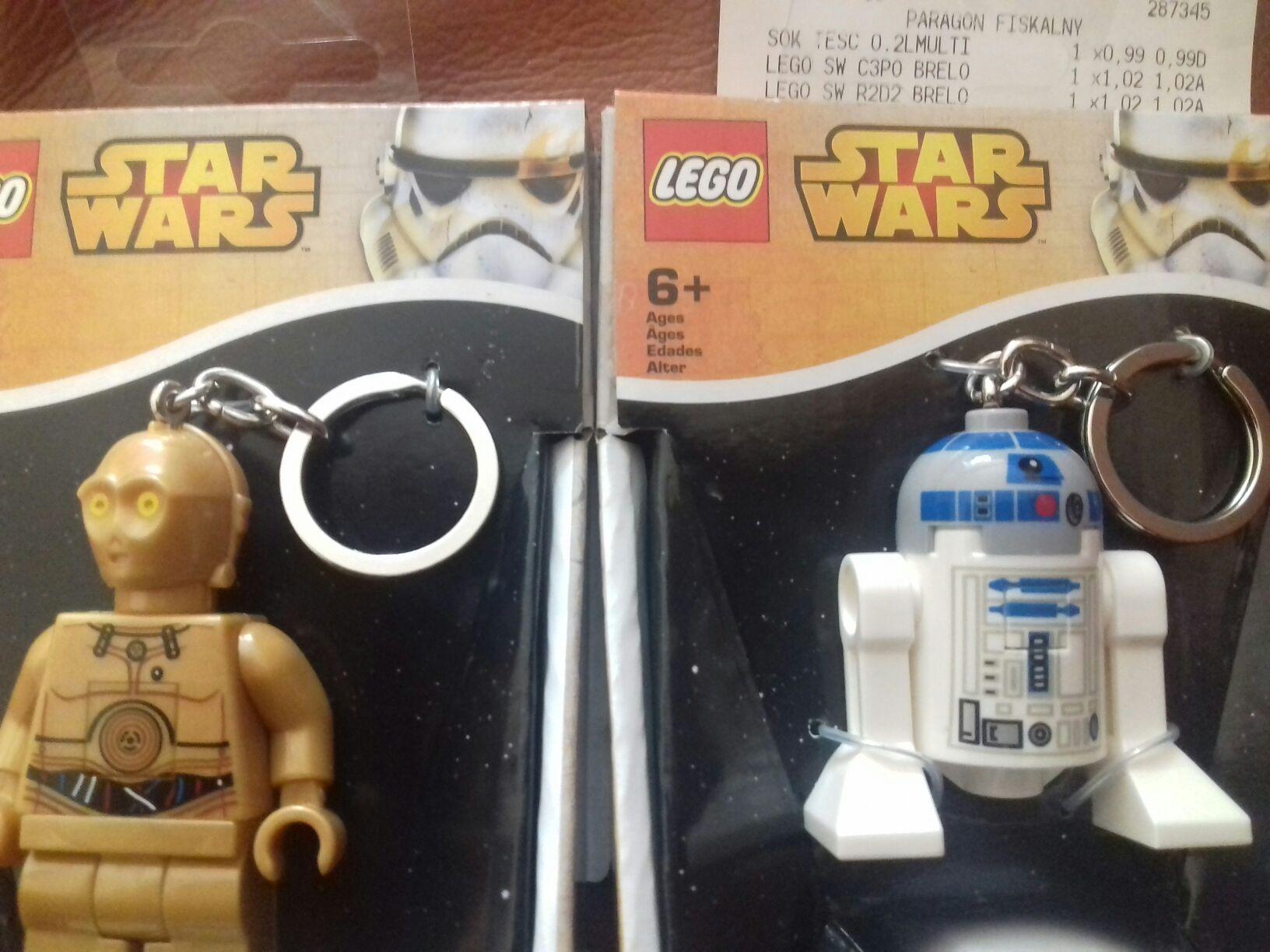 Breloki LEGO Star Wars w TESCO za 1.02zl