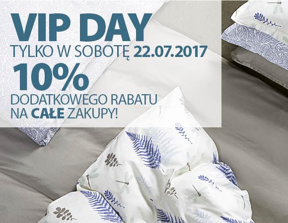 VIP DAY 10% dodatkowego rabatu na całe zakupy w JYSK