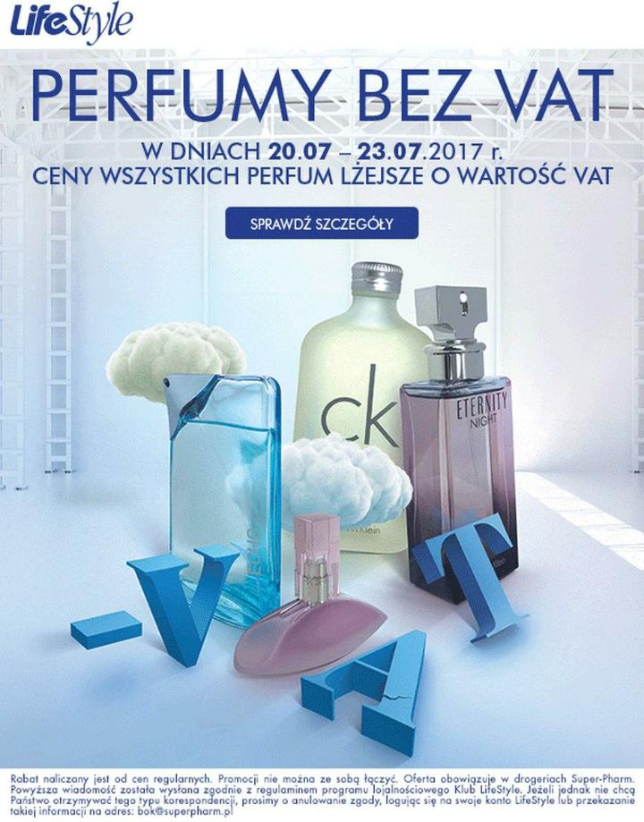 Perfumy bez VAT @Superpharm